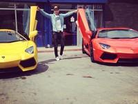 Tuấn Hưng khoe 'siêu bò' Lamborghini Aventador 21 tỉ đồng