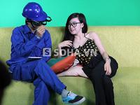 Cô gái xinh đẹp tung clip chửi thẳng mặt Bà Tưng