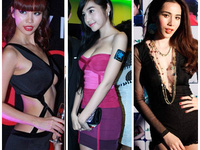 Mỹ nhân Việt khơi nét sexy từ sơ mi trắng