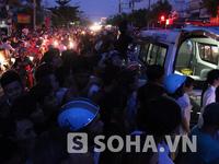 Chùm ảnh đặc biệt về vụ xả súng tại cửa khẩu Quảng Ninh
