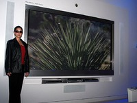 TV 145 inch độ phân giải cao gấp 16 lần Full HD