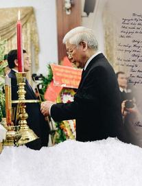 Những lời tiếc thương cố Thủ tướng Phan Văn Khải của lãnh đạo Đảng, Nhà nước trong sổ tang