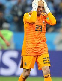 Tường thuật Argentina 0-1 Croatia: Thủ môn Argentina sai lầm không thể tin nổi