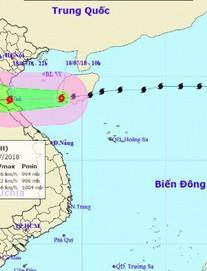 Bão số 3 giật cấp 11 tấn công đất liền Nghệ An, Hà Tĩnh