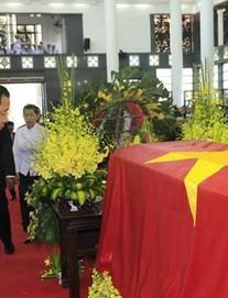 Thủ tướng Campuchia và Thủ tướng Hàn Quốc đến viếng Chủ tịch nước Trần Đại Quang