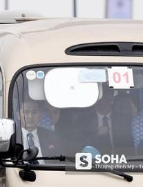[NÓNG] Nhân viên an ninh Triều Tiên di chuyển vào nội thành Hà Nội
