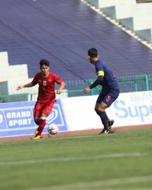 TRỰC TIẾP U22 Việt Nam 0-0 U22 Thái Lan: Thế trận giằng co quyết liệt