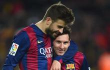 """Ngầm """"bật"""" Messi, Pique nguyện gắn bó với Enrique đến chết"""