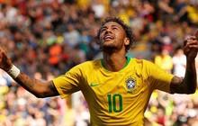 Neymar vừa tái xuất đã solo ghi bàn đẹp mắt, Brazil phấn khởi trước thềm World Cup 2018