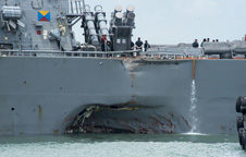Báo Nga: Tàu Mỹ va chạm liên tiếp, Triều Tiên chưa cần ra tay cũng khiến Mỹ suy yếu