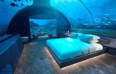 Bạn có muốn ngủ cùng cá trong biệt thự sang chảnh dưới biển Maldives