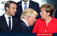 """Chuyện ông Trump """"phân biệt đối xử"""" và sứ mệnh đặc biệt của ông Macron, bà Merkel ở Mỹ"""