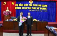 Bí thư Thủ Dầu Một làm chủ tịch HĐND tỉnh Bình Dương