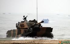 Bản nâng cấp của xe tăng lội nước Type 63 có trong biên chế HQVN