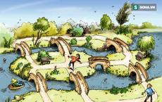 Làm thế nào để đi qua cả 7 cây cầu mà không lặp lại 1 cái nào?
