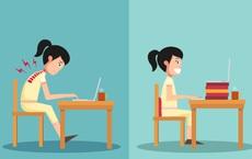Giải pháp phòng tránh bệnh gù, còng lưng: Người ngồi nhiều nhất định phải lưu ý!