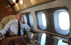 Tổng thống Putin ngắm đội hộ tống Su-35 từ chuyên cơ dát vàng