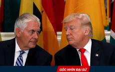 """Màn kịch của Mỹ: Ông Trump, Tillerson """"trống đánh xuôi, kèn thổi ngược"""" về Triều Tiên"""