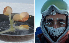 Nấu nướng ở nhiệt độ -70 độ C là một trong những trải nghiệm kinh hoàng nhất thế giới này