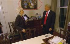 """Người Mỹ thích thú chia sẻ chi tiết """"bất thường"""" trong video phỏng vấn TT Mỹ Donald Trump"""