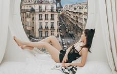 Căn phòng nơi Ngọc Trinh chụp ảnh ngưng đọng thời gian: Góc view đẹp nhất nhì Paris, phải đặt trước cả tháng