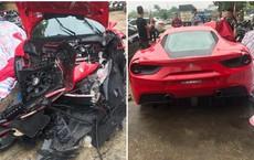 Xôn xao thông tin siêu xe của một nam ca sĩ nổi tiếng gặp tai nạn nghiêm trọng