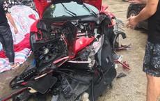 Thông tin mới nhất về siêu xe 16 tỷ của ca sĩ Tuấn Hưng gặp nạn, đầu xe nát tươm