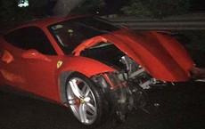 """Siêu xe Ferrari gặp nạn, ca sĩ Tuấn Hưng """"liên tục xin lỗi vì không thể trả lời lúc này"""""""