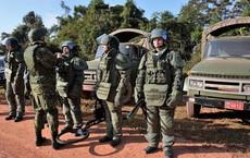 Trang bị hiện đại của lính công binh Nga đang hoạt động tại Lào