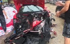 Siêu xe gặp nạn của ca sĩ Tuấn Hưng được bàn giao, đưa về Hà Nội sửa chữa