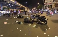 Danh tính nữ tài xế BMW tông xe máy văng la liệt ở ngã tư Hàng Xanh