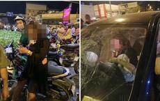 """Clip hiện trường tai nạn Hàng Xanh, nữ tài xế BMW: """"Đời em chưa bao giờ thế này, mọi người ở đây em lo"""""""