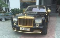 """""""Choáng"""" với Rolls-Royce Phantom rồng vàng 35 tỷ bất ngờ xuất hiện ở Hải Phòng"""