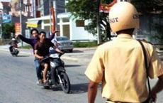 Hai thanh niên vi phạm giao thông tông thượng uý công an chấn thương sọ não