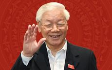 Tổng bí thư Nguyễn Phú Trọng đắc cử Chủ tịch nước với tỷ lệ phiếu 99,79%