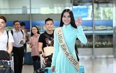 Vì sao Hoa hậu Trái đất Phương Khánh không đội vương miện khi về nước?
