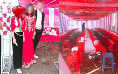 """Đếm phong bì mừng cưới xong, cô dâu Điện Biên nói đi thắp hương cho mẹ rồi """"biến mất"""" cùng tiền mừng"""