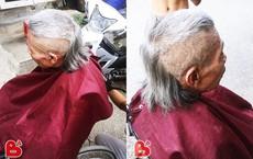 Kiểu tóc lạ khiến cụ ông trẻ ra chục tuổi nhưng ai nhìn vào cũng nhún vai khó hiểu