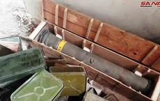 Syria: Điều bất ngờ trong kho vũ khí lớn khủng bố giấu ở nông trại ngoại ô Damascus