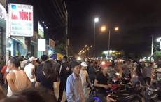 Khách hàng mặc toàn đồ đen cướp tiệm vàng táo tợn ở Quảng Nam