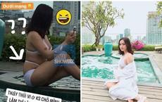 Hot girl lộ vóc dáng thật trong ảnh được tag: Người sồ sề ngấn mỡ, người chân ngắn không hề nuột nà