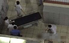 Nam bệnh nhân nhảy từ tầng 4 Bệnh viện Bạch Mai xuống đất tử vong