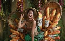 Phản ứng bất ngờ của cộng đồng quốc tế khi H'Hen Niê trình diễn trang phục bánh mì