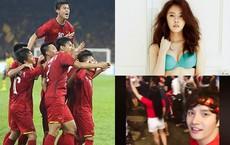 """Sao nước ngoài cũng hâm mộ cuồng nhiệt, """"đi bão"""" cổ vũ đội tuyển Việt Nam vô địch AFF Cup"""