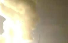 """""""Rồng lửa"""" S-300 nổ như pháo hoa chỉ ít giây sau khi rời bệ phóng"""