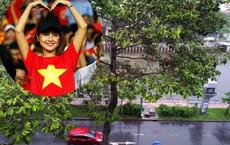 Sài Gòn đổ mưa trước giờ diễn ra trận chung kết AFF Cup 2018