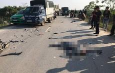 Người phụ nữ đập đầu vào kính xe tải tử vong thương tâm sau cú tông xe ngược chiều