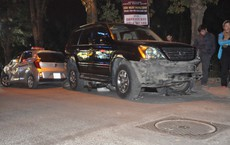 """Xác định danh tính nữ tài xế lái xe """"điên"""" Lexus đâm hàng loạt phương tiện ở Hà Nội"""