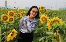 Cánh đồng hoa hướng dương tuyệt đẹp rộng 18.000m2 giữa Sài Gòn