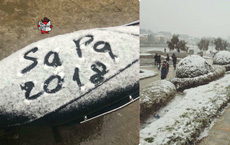 Những bức ảnh Sapa có tuyết chia sẻ khắp mạng xã hội và sự thật được xác minh sau một tấm hình